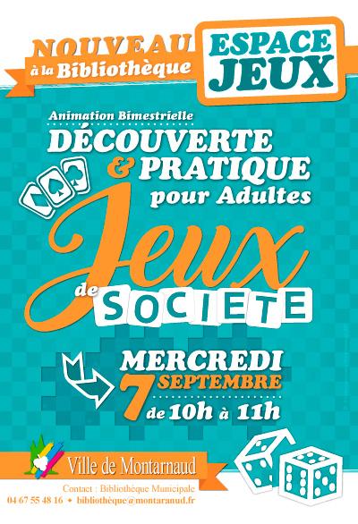 Mairie de Montarnaud - Espace Jeux de Société pour adultes