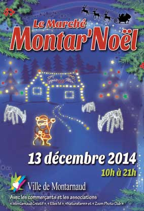 Flyer recto Montar'Noël 2014