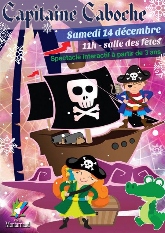 Affiche spectacle « Capitaine Caboche » - JPEG - 738.5 ko